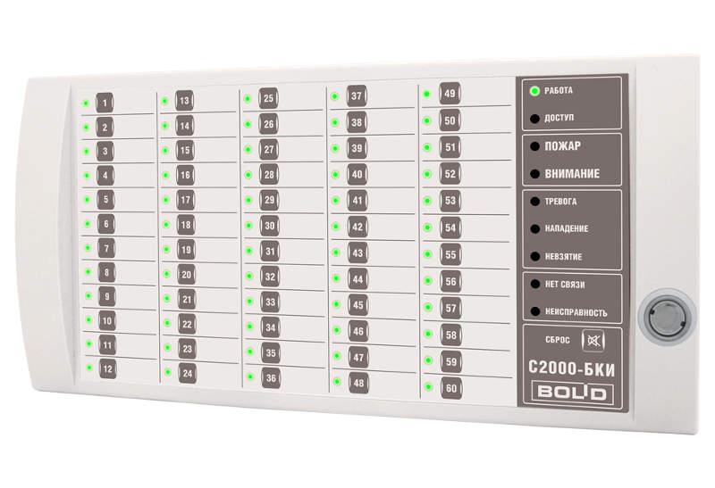 Блок индикации С2000-БКИ