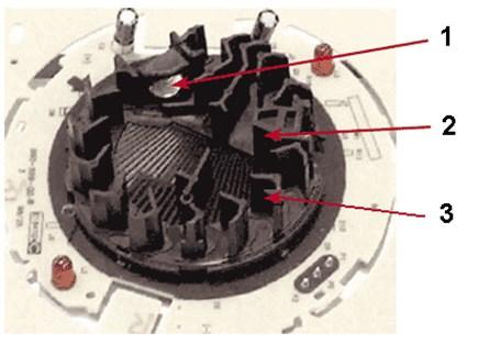 Устройство камеры обнаружения дыма
