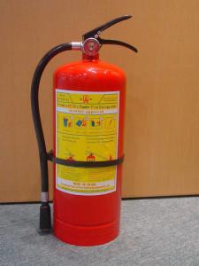 Подставка является важной частью эксплуатации огнетушителя