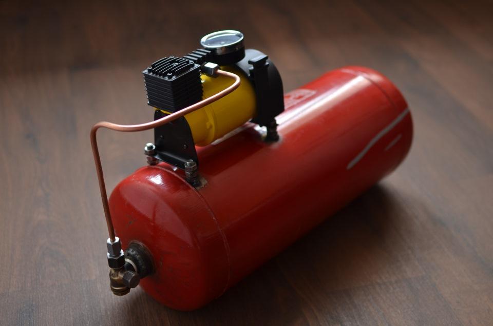 Из чего и как сделать компрессор 341