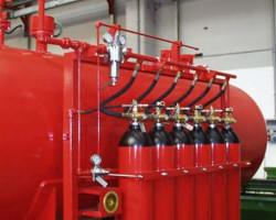 Применение систем газового пожаротушения