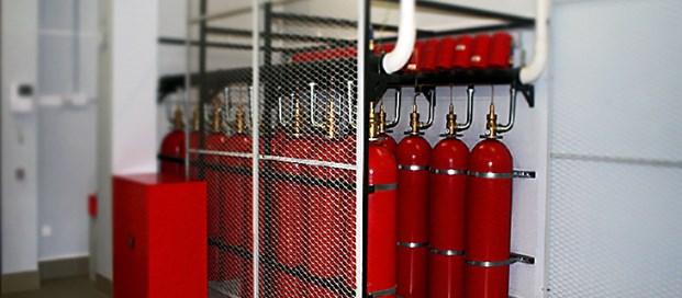 Испытание пожаротушащей системы