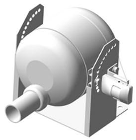 Модуль в напольном исполнении