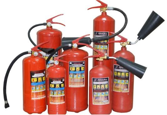 Набор огнетушителей