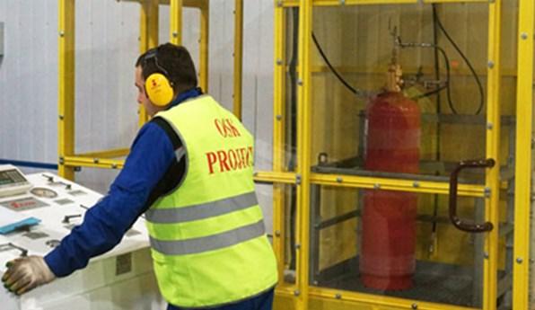 Заправка системы пожаротушения