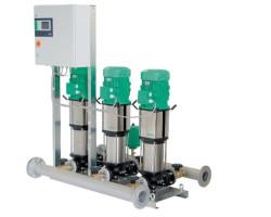 Стационарный насос для трубопроводов высокого давления