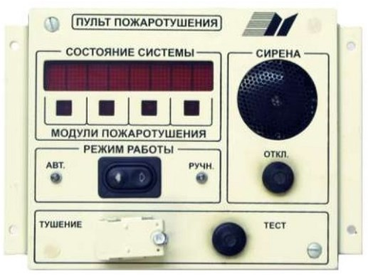 Блок управления БУИ-1