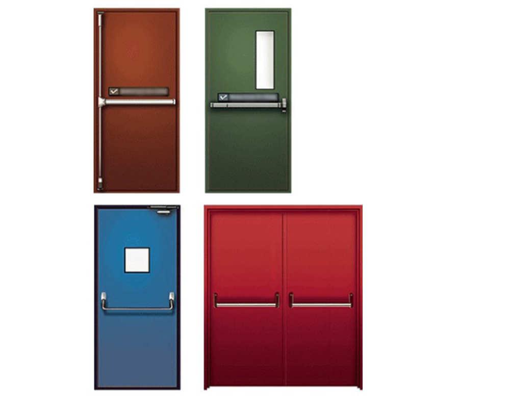 Выбираем металлические огнестойкие двери