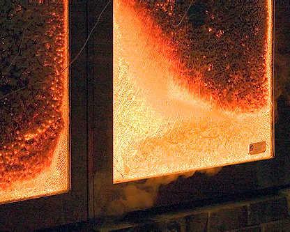 Конструкция огнезащитных окон