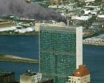 Сработавшая система дымоудаления выводит продукты сгорания от очага возгорания