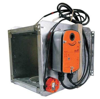 Противопожарный клапан КПУ 1м с электроприводом BELMO