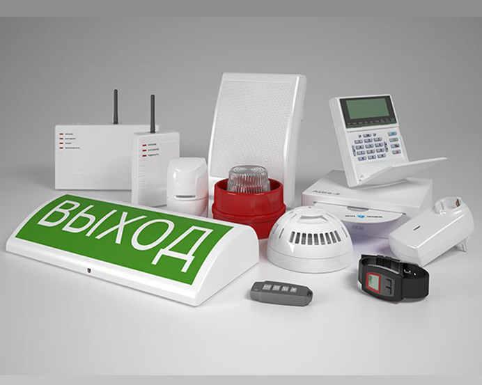 Минимальный «бытовой» комплект радиоканальной пожарной сигнализации