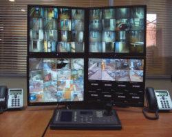 Рабочее место диспетчера системы видеонаблюдения