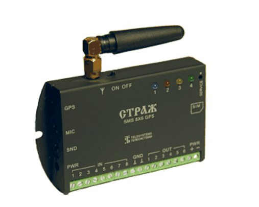 Блок управления с GSM модулем и антенной для усиления передачи сигнала