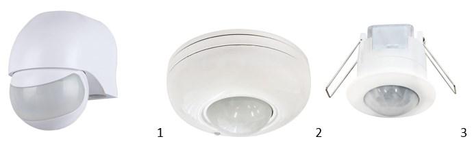 Датчики: настенные, потолочные, для скрытого монтажа в подвесных потолках