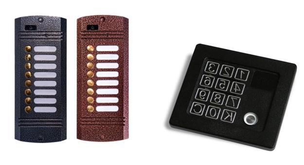 Адресные и коммутационная вызывные панели