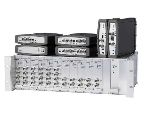 Линейка IP-видеосерверов производителя Axis