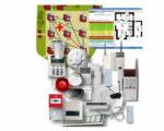 Элементы охранно-пожарной сигнализации