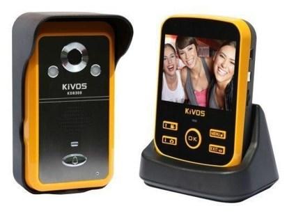 Видеодомофон с мобильным модулем связи и управления, модель KiVOS KDB 300