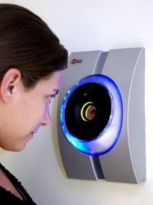 Бесконтактное сканирование радужной оболочки