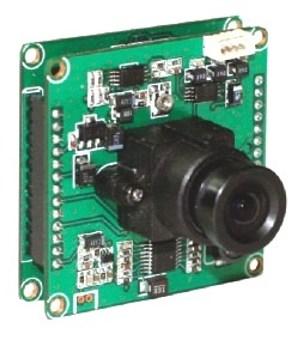 Бескорпусная цветная камера модели TCC-3242HQS