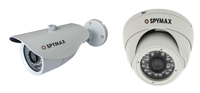 Видеокамеры, поддерживающие AHD технологию, модели Spymax SBM (корпусная внешняя) и SDH (купольная внутренняя) 361FR