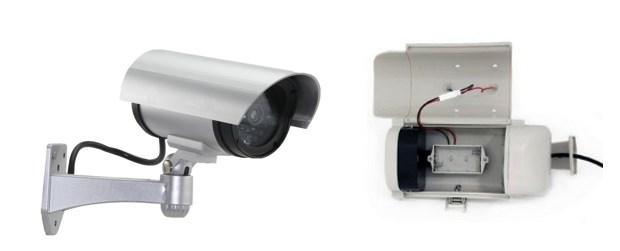 Муляж камеры RVI 03 с поворотным механизмом и внутренний отсек для батарей питания