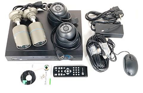 Комплект видеонаблюдения IPTRONIC