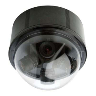 Панорамная видеокамера с четырьмя объективами