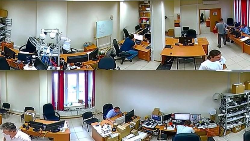 То же изображение после обработки специальными приложениями на видеосервере