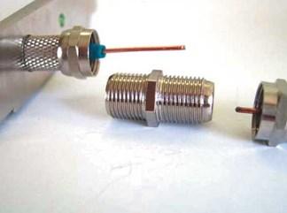 Соединительная муфта и F-коннекторы