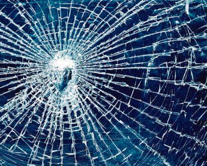 Информируем о разбитии стекла