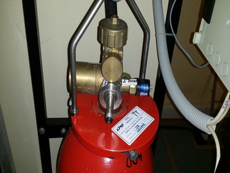 Газовый модуль для тушения пожара Lpg