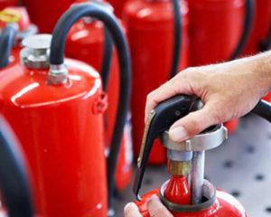 Где заправить углекислотный огнетушитель