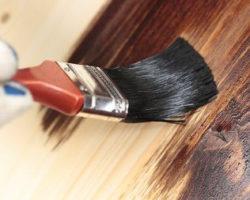 Покраска древесины огнезащитным составом