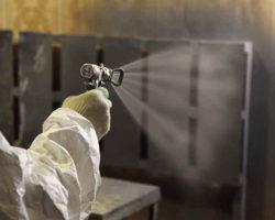 Обработка деревянных конструкций огнезащитным составом