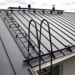 Безопасность при подъеме на крышу