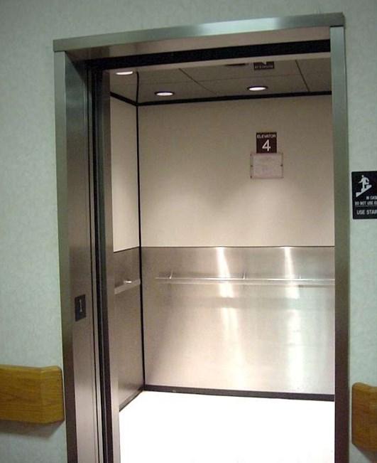 Для отдели лифтов подбираются только негорючие материалы