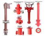 Виды пожарной колонки