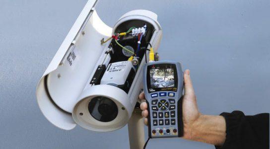 Проверка качества передаваемого изображения камеры видеонаблюдения непосредственно на месте эксплуатации