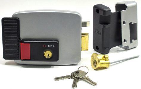 Накладной электромеханический замок, модель CISA 11630.60.3