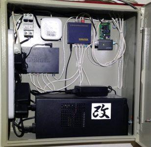 Расположение ИБП в системе видеонаблюдения