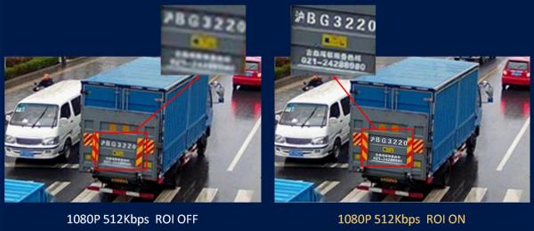Пример увеличения качества изображения при помощи функции «область интересов»