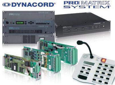 Профессиональное оборудование от компании Dynacord - цифровой комплекса оповещения PRO Matrix System