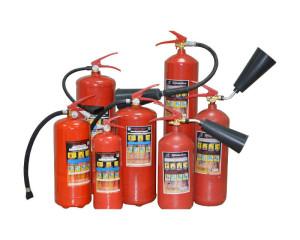Назначение и устройство огнетушителя порошкового типа