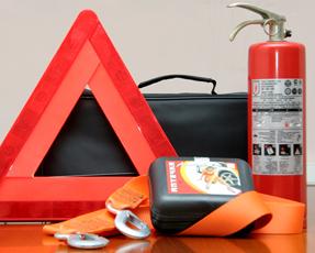 Для автомобиля очень важно наличие средст пожаротушения