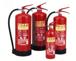 Химический состав пены для огнетушителя