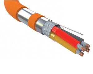 Устройство кабеля для пожарной сигнализации