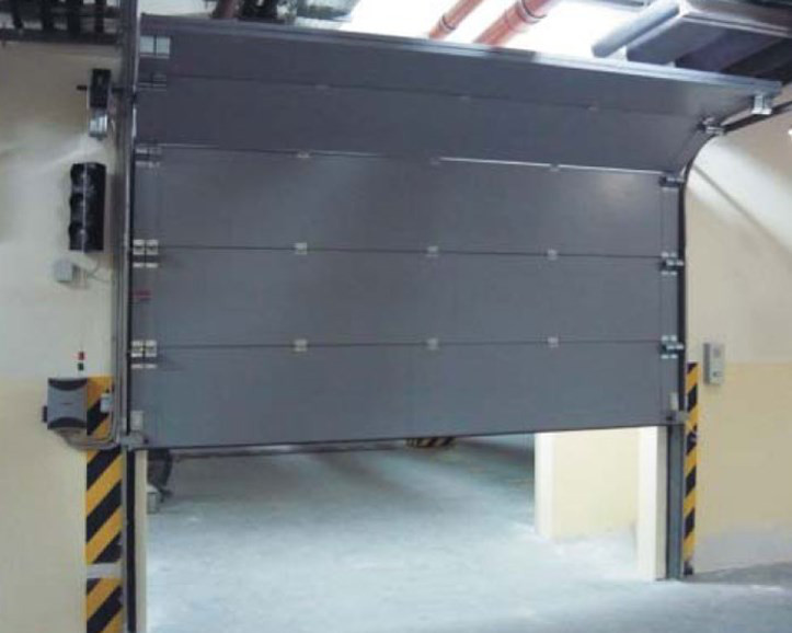 Секционные ворота, требования к высоте помещения
