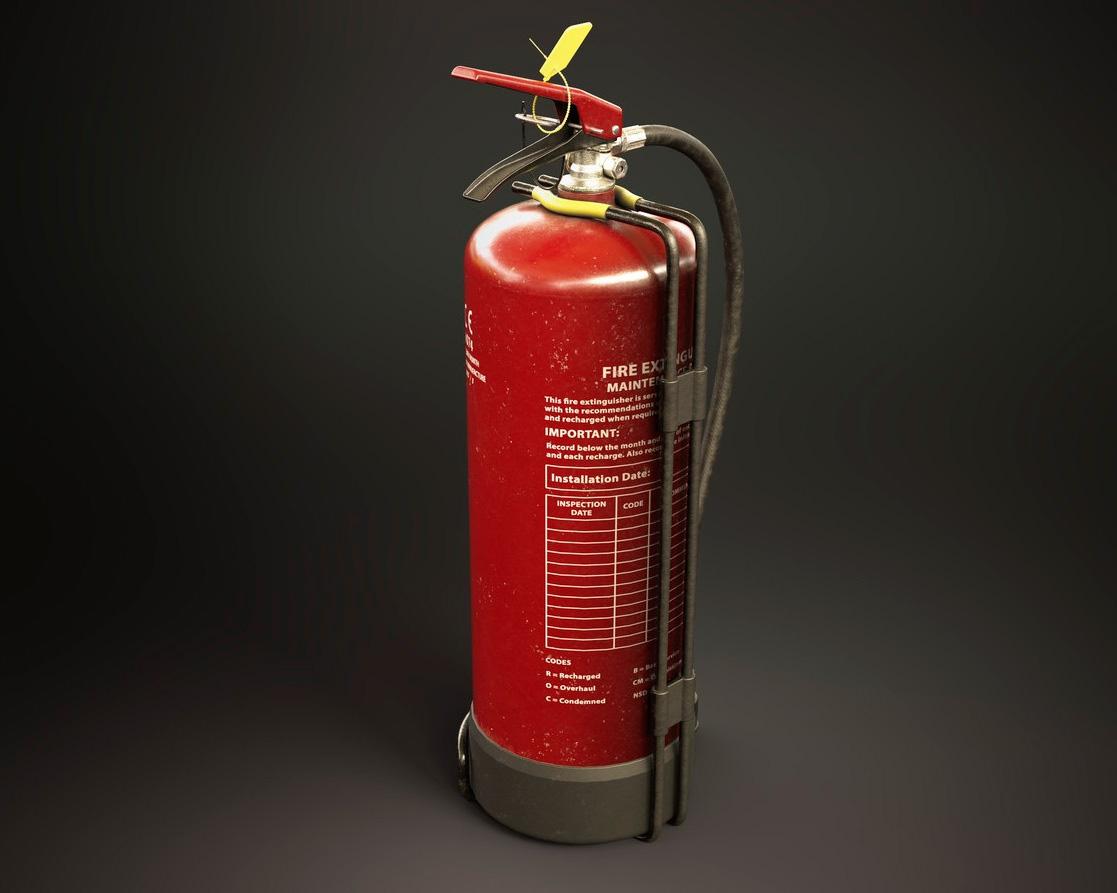 Переносной огнетушитель: виды и особенности
